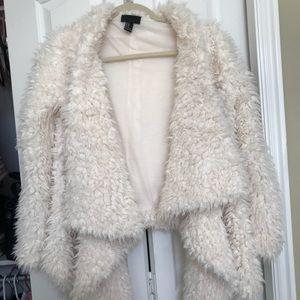 Forever 21 fur jacket